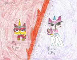 UNKYXTLM2 - Warrior And Disco Kitty by worldofcaitlyn