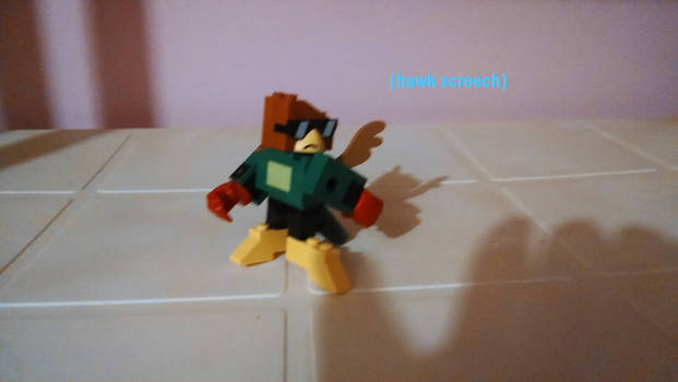 UNKY - Fighting Stance LEGO by worldofcaitlyn