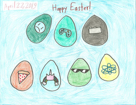 UNKY - Happy Easter 2019 by worldofcaitlyn