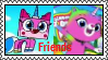 UNKYXRBUK - Unikitty And Felicity As Friends Stamp