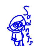 IO - Sadness Doodle by worldofcaitlyn