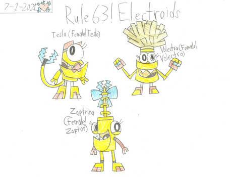 Mxls - Rule 63 Electroids