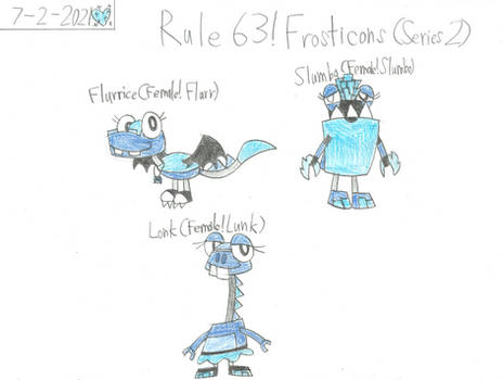 Mxls - Rule 63 Series 2 Frosticons