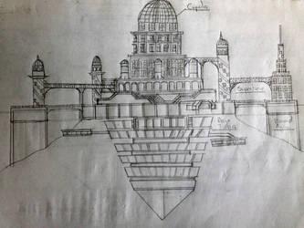 The Universal Castle (Design) by 7H3D3M0NL0RD