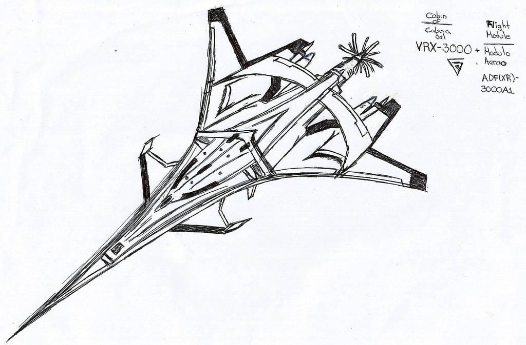 VRX-3000 (Cabin)+Flight Module ADF(XR)-3000A1 by 7H3D3M0NL0RD