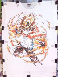 T-Shirt Tsuna -  Make Color by ranalez