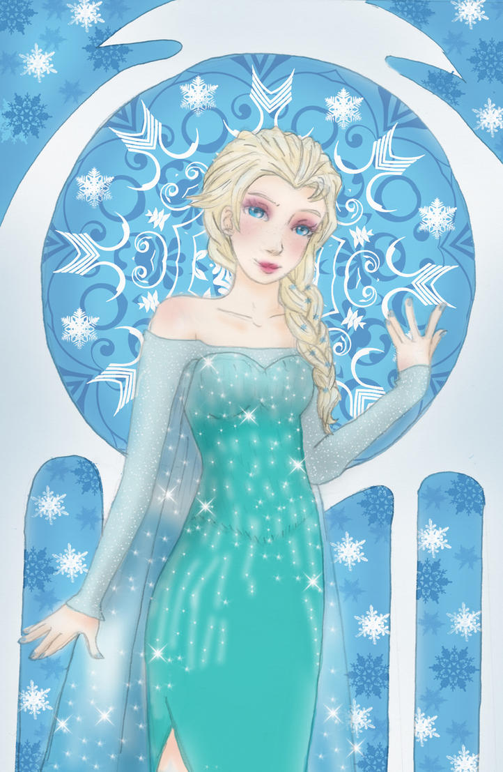Frozen Elsa by Liliko-dream