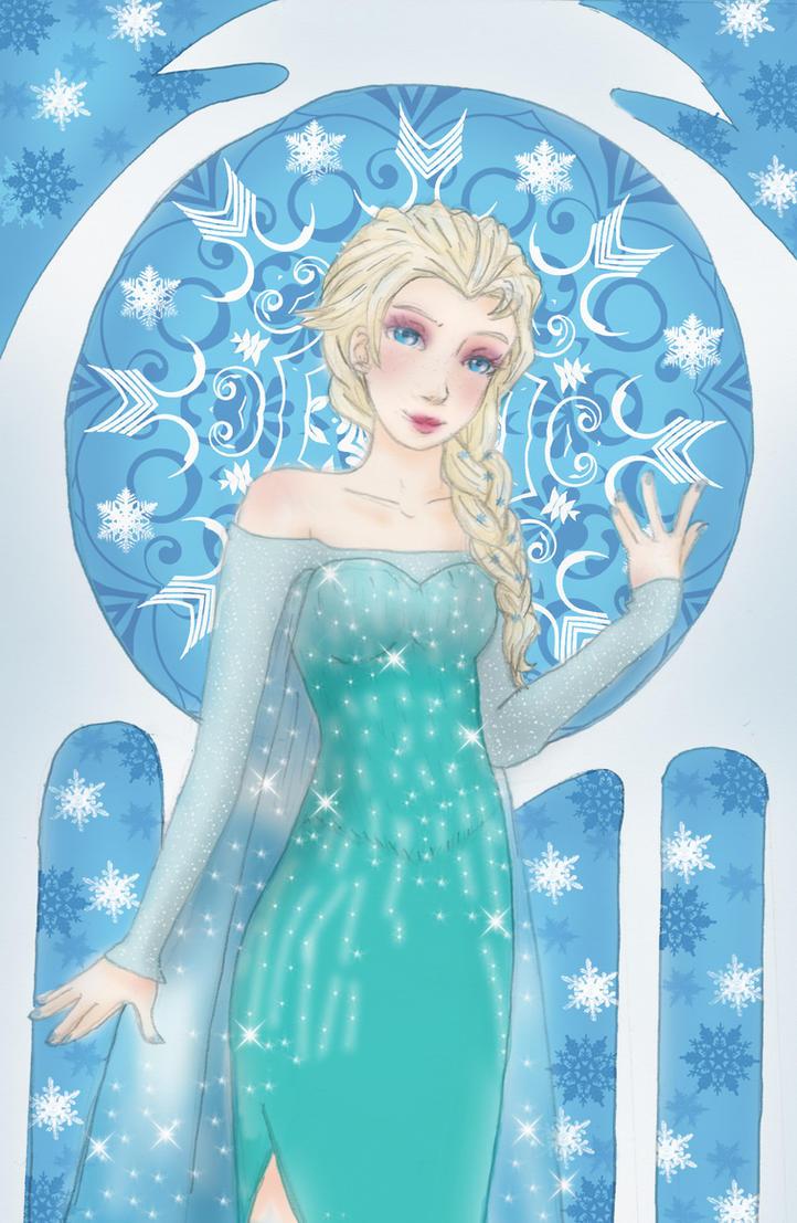 Frozen Elsa by Liliko-dream