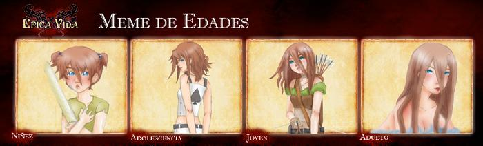EV-Meme De Edades Merida by Liliko-dream