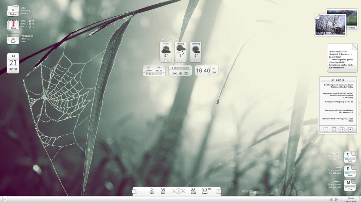 Desktop October 10 by MadMilov2