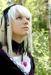 Rozen Maiden cosplay-Suigintou by Gekidan