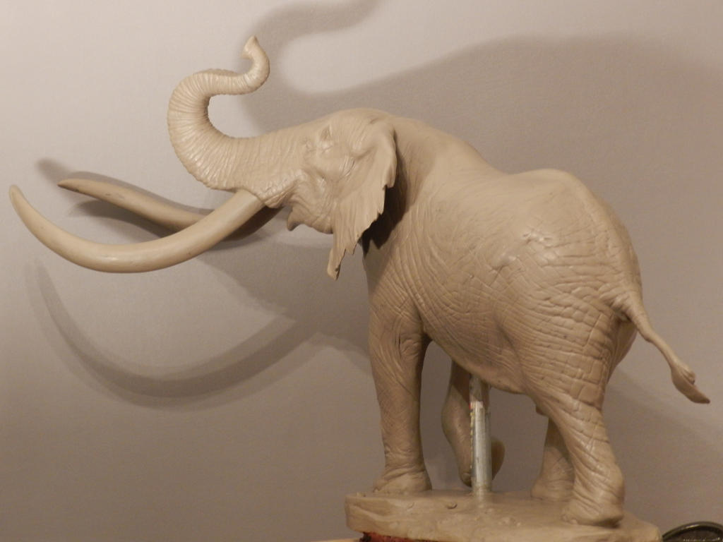 Realistic Clay Sculptures of Elephants - Bing images