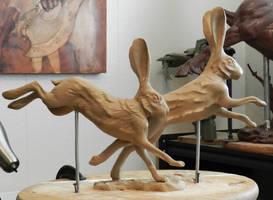 Rabbits 1 by JordanAbernethy