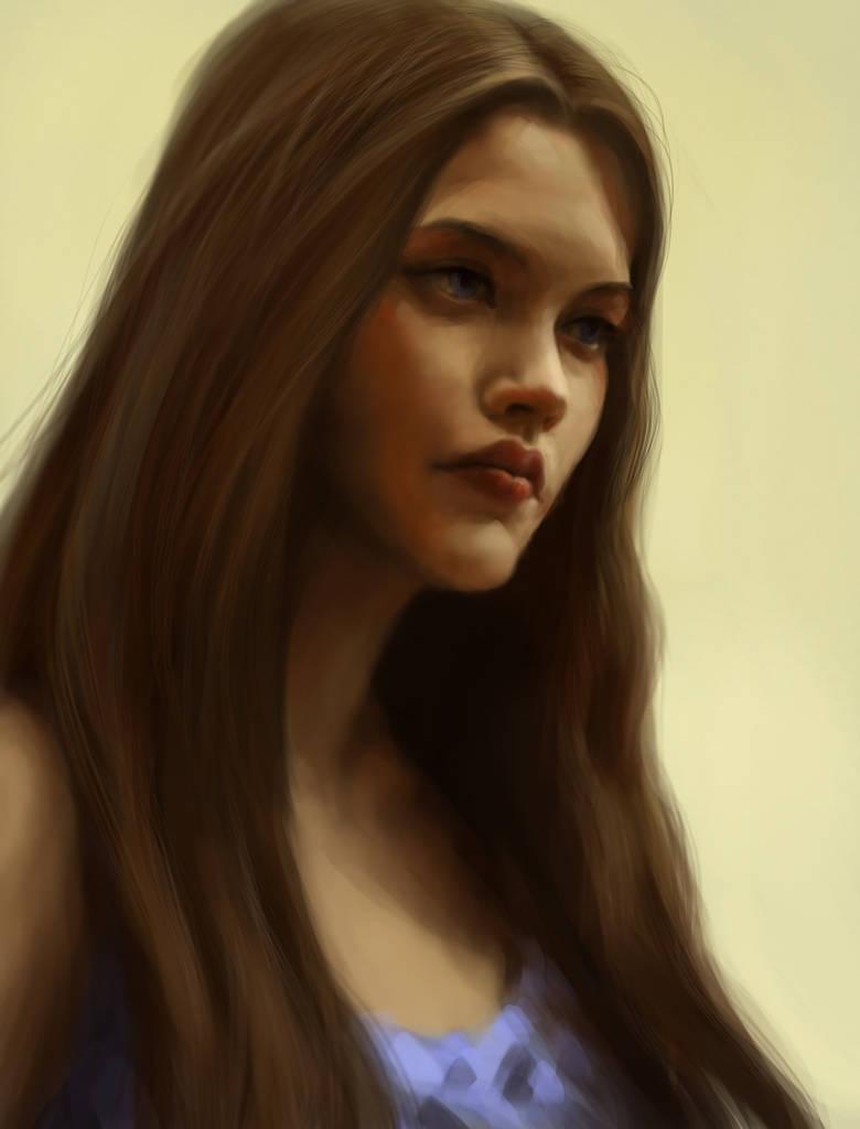 Portrait practice III by jennomat