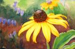 yellow coneflower by jennomat