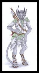DnD - Chrmurr - The scout by Isuna