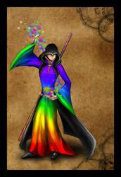 DnD - NPC 2 - Rainbow by Isuna