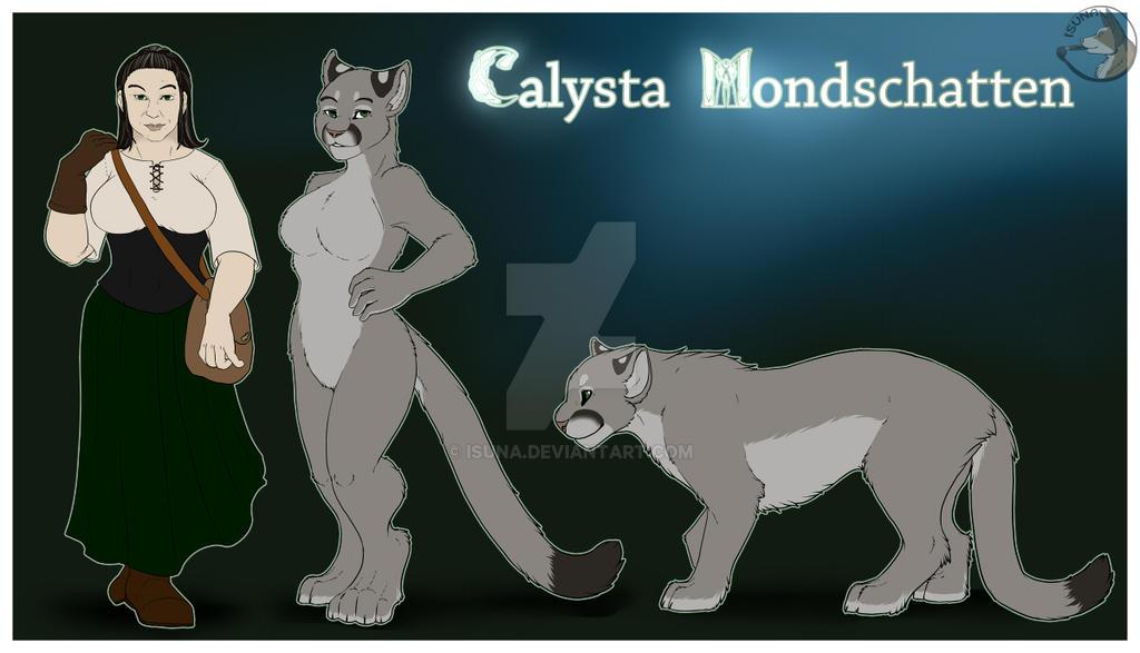 Refsheet - Calysta Mondschatten by Isuna