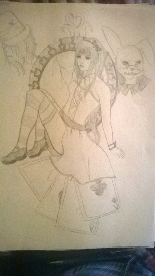 Alice and wonderland by Xxwolfy13Xx