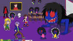 Ib and Garry: Paper Mary Jam Battle! by LeafGreen1924