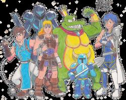 SSBU - 2nd Batch of Newcomers! by LeafGreen1924