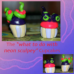 What to do with neon clay