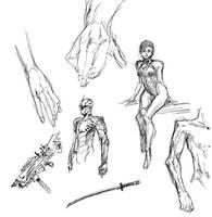 random sketchies by anchan