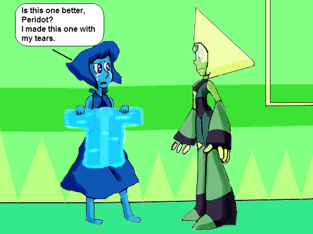 Lapis And Peridot Sweater Of Tears Request By Toonempire24 On