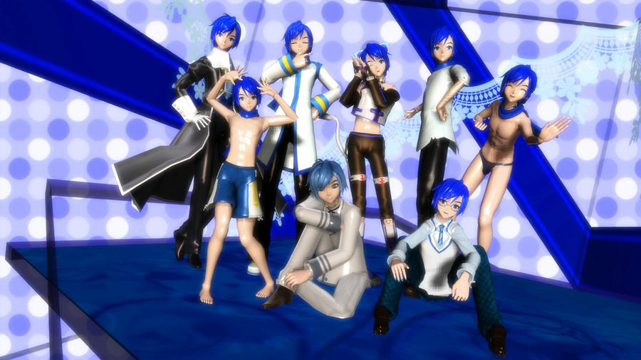 DT Kaito Models by TsukiyomiNekoMiku on DeviantArt