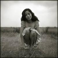 Jeune femme dans le marais 3 by Renoux