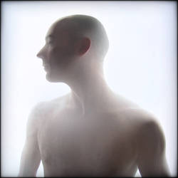 Portrait au voile by Renoux