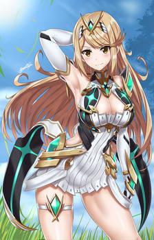 Hikari/Mythra from zenoblade 2