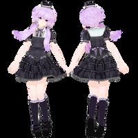 Tda Gothic Yukari DL by Skykoki