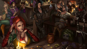 Gwent In The Inn by ArtofWeiHan