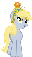 Derpy in her Big Crown Thingy