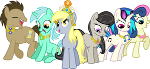 The Background Mane 6 Elements of Harmony