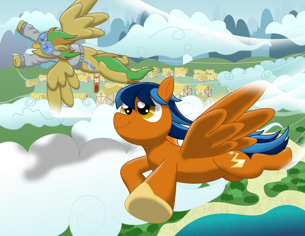 Flying Buddies by South-Fur