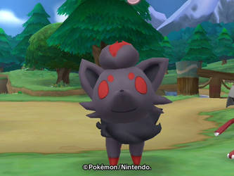 Zorua is Proud by South-Williams