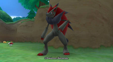 Zoroark Looking Cool