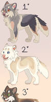 puppy adopts (closed)