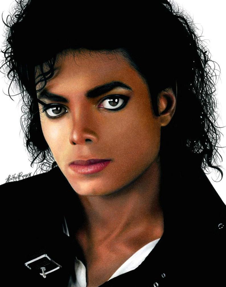 Drawing Michael Jackson by Heatherrooney
