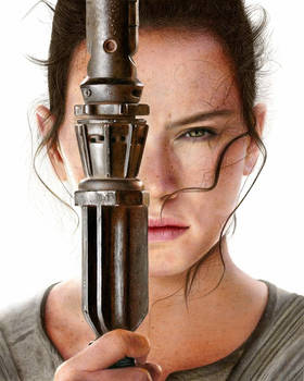 Star Wars Rey drawing