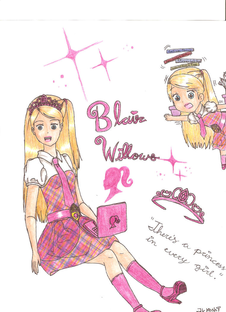 Barbie Princess Charm School: Blair Willows FINAL by ...