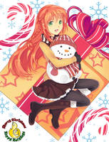 H.O.W Christmas-Mariciel by cupturtle