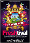 Freshtival 2011 poster
