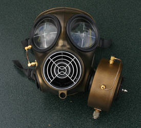 Steampunk Gasmask 3