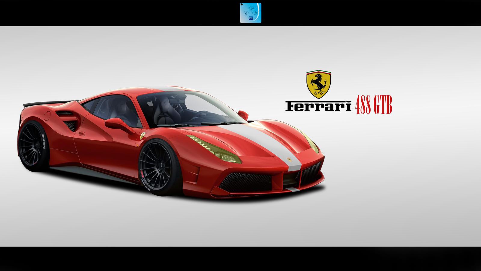 Group Of Ferrari 488 Wallpaper Windows 10