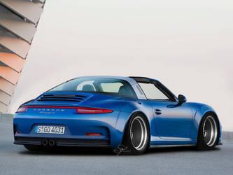 Porsche-911 Targa 4S