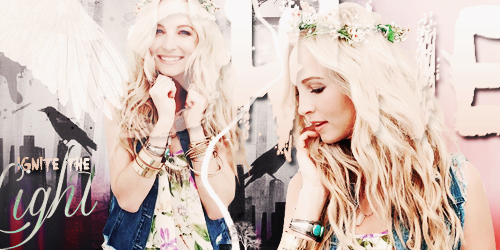 Shine Signature (Candice Accola) by maayruss