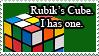 Rubik's Cube Stamp by Sharubii